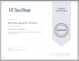 Coursera_IntroductionToBigData
